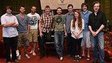 Kit Downes Ensemble In Session