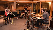 Chloe Howl in session at Maida Vale.