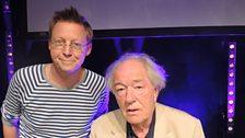 Simon and Sir Michael Gambon