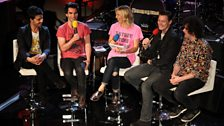 Jo Whiley with Stereophonics