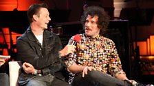 Richard Jones and Jamie Morrison