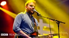 Frightened Rabbit at Reading Festival 2013
