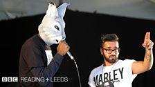 Zaheer at Reading Festival 2013