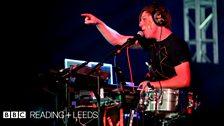 Robert DeLong at Reading Festival 2013
