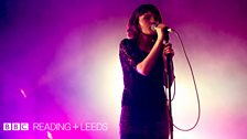 CHVRCHES at Reading Festival 2013