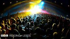 Skrillex at Reading Festival 2013