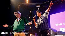 Rap Battle at Reading Festival 2013