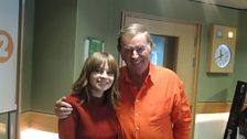 Gabrielle Aplin with Sir Terry