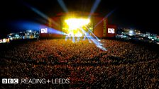 The crowd at Reading Festival 2013