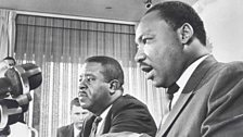 Ralph Abernathy and Martin Luther King