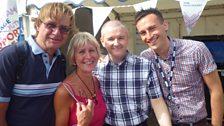 David, Jill, Paul and Daniel