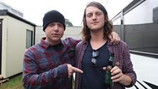 Mike with Giles Bidder of Great Cynics