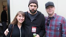 Iona from Great Cynics and Ryan from Off With Their Heads with Mike