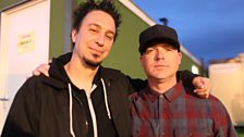 Lou from Sick of It All with Mike