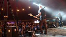 Alkaline Trio on stage