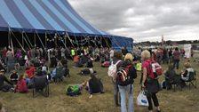 At Greenbelt festival