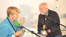 Clare Balding talks to Jim Wallis