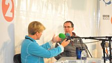 Clare Balding and the Revd Richard Coles
