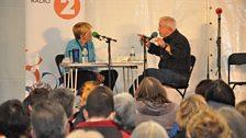Clare Balding in conversation with Jim Wallis