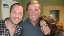 The cast of Once: The Musical joined Sir Terry live