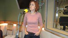 Alison Moyet performed live in Studio 6C