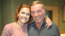 Alison Moyet with Sir Terry