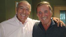 Len Goodman with Sir Terry