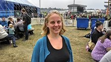 Ginny Jordan-Arthur speaks about the Taize service