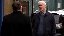 April: Keep your friends close but your enemies closer - Lenny makes a dangerous deal with Billy Kennedy