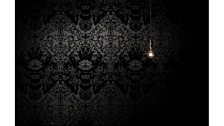 Timorous Beasies, Devil Damask Flock Wallpaper, launched 2007