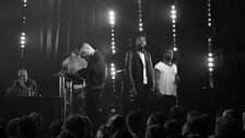 Young Fathers perform