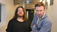 Lee Mack and Ray Peacock
