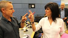 7 September 2013: Jeremy Hardy and Emma Freud