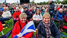 Glasgow audience