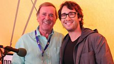 Josh Groban with Sir Terry Wogan