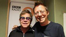Elton John and Simon Mayo