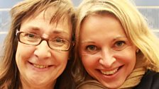 14 September 2013: Pauline McLynn and Nikki Bedi