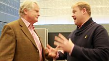 14 September 2013: (L-R) Sir Michael Dobbs and Stuart Skelton