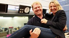 14 September 2014: Stuart Skelton and Nikki Bedi - the happy couple