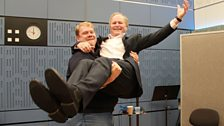 14 September 2013: Stuart Skelton and Clive Anderson - the happier couple?