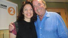 Jacqui Dankworth with Sir Terry Wogan