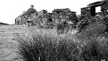 The ruined village of Raisg Buidhe on Colonsay