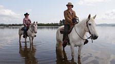 Horse riding on Inchtavanach