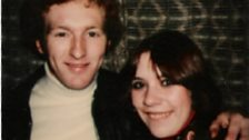 David Waddington and Gill in the '70s