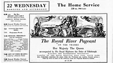 The Royal River Pageant