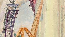 Grace Cossington Smith, The Bridge in Building, 1929-1930