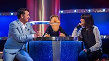 Claudia Winkleman and Shane Richie