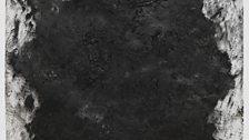 Courtauld Transparency #3, 2013. Litho crayon on Mylar, 76.2 x 61 cm