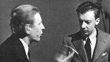 Britten with WH Auden in New York 1941