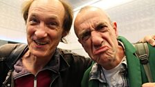 20 September 2013: (L-R) Jon Otway & Arthur Smith